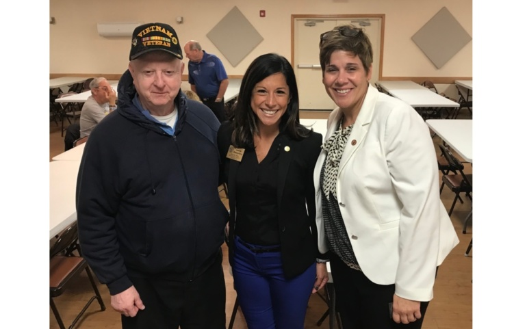 Senator Bertino-Tarrant hosts Veteran's Breakfast